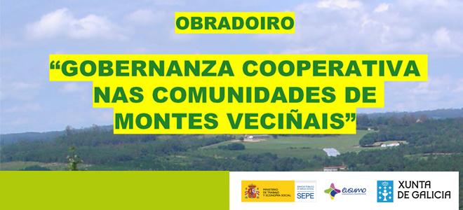 Abre a matrícula para o Obradoiro sobre Comunidades de Montes Veciñais en Moaña