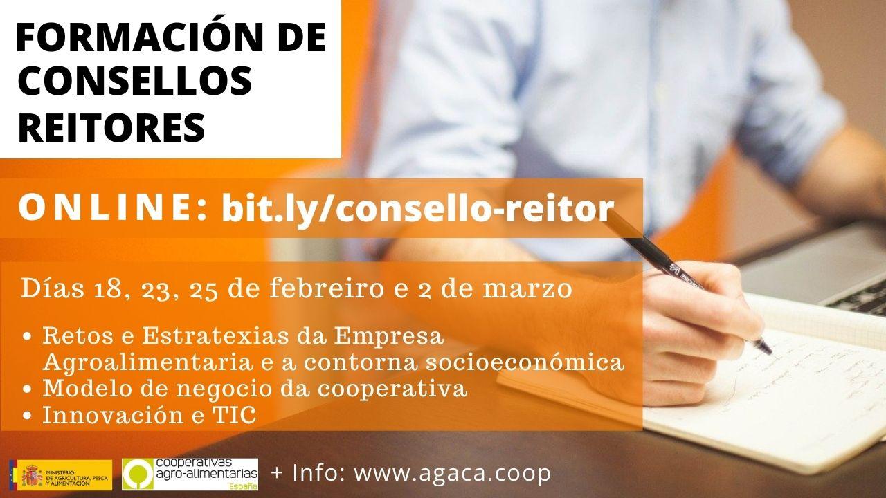 CANCELADO – ¡Atención, Consejos Rectores! Abre matrícula para taller de formación que comienza el 18 de febrero