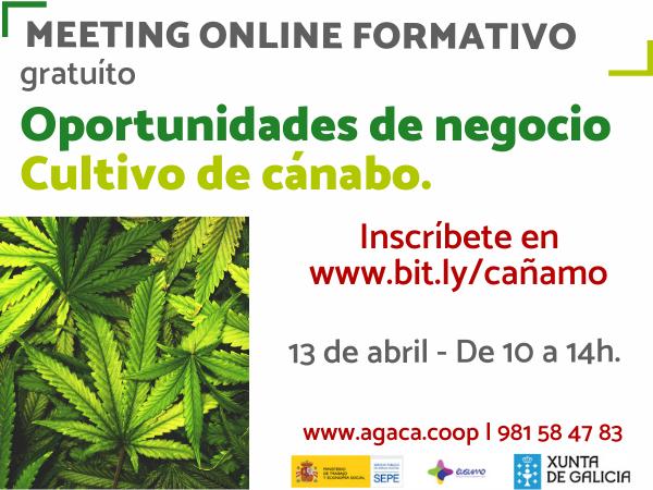 «Meeting formativo – Oportunidades de negocio cultivo de cáñamo»