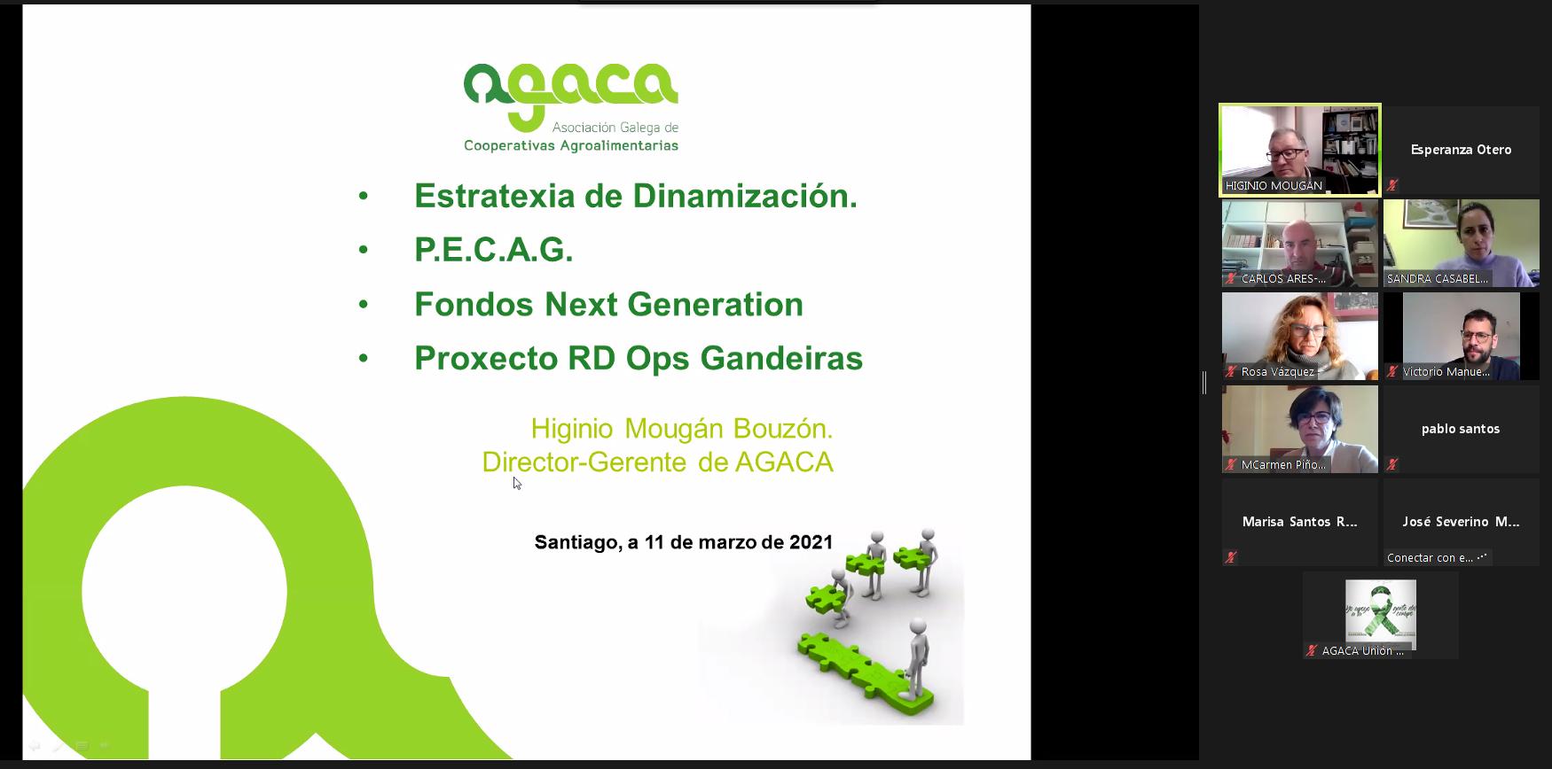 Dinamización do sector, situación do mercado e PAC centralizan a xornada de cooperativas lácteas de AGACA
