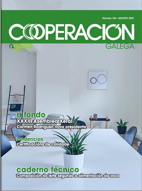Cooperación Galega Nº 154 Agosto 2021