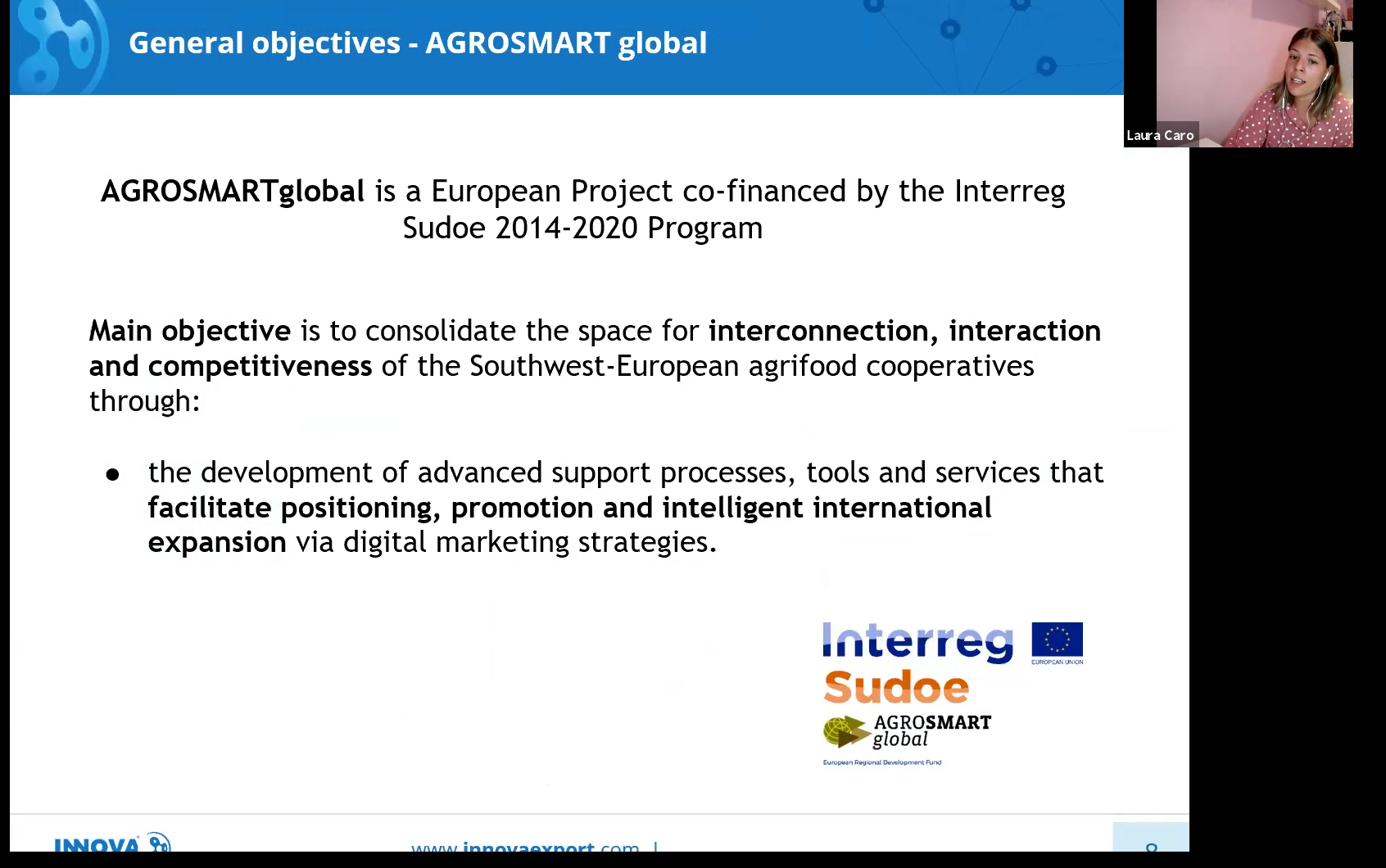 Las cooperativas gallegas se acercan al comercio internacional en un  webinar de  AGROSMARTglobal