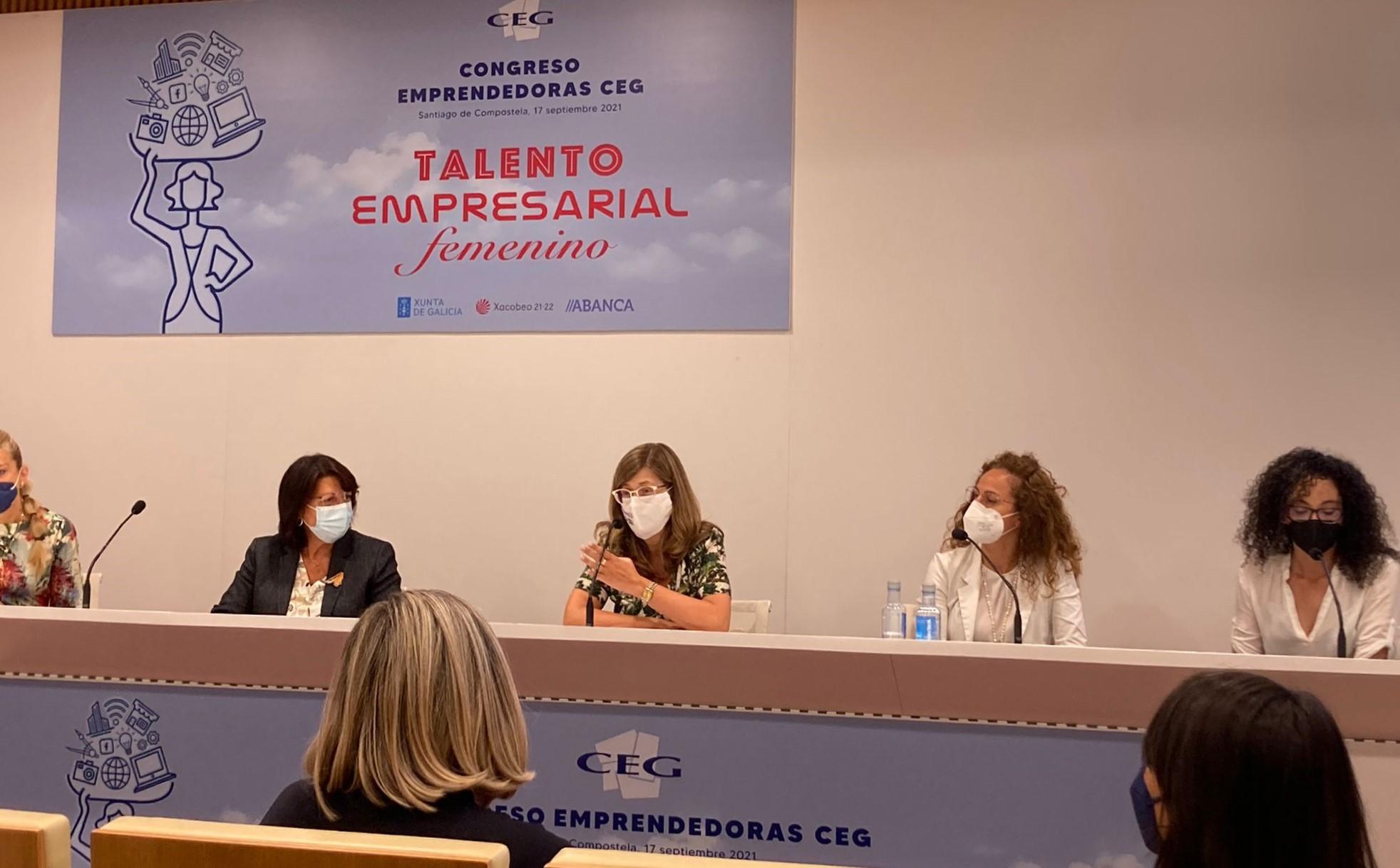 """Loli Calvo, presidenta de Nós, as Mulleres participou no Congreso """"Talento Empresarial Feminino"""""""