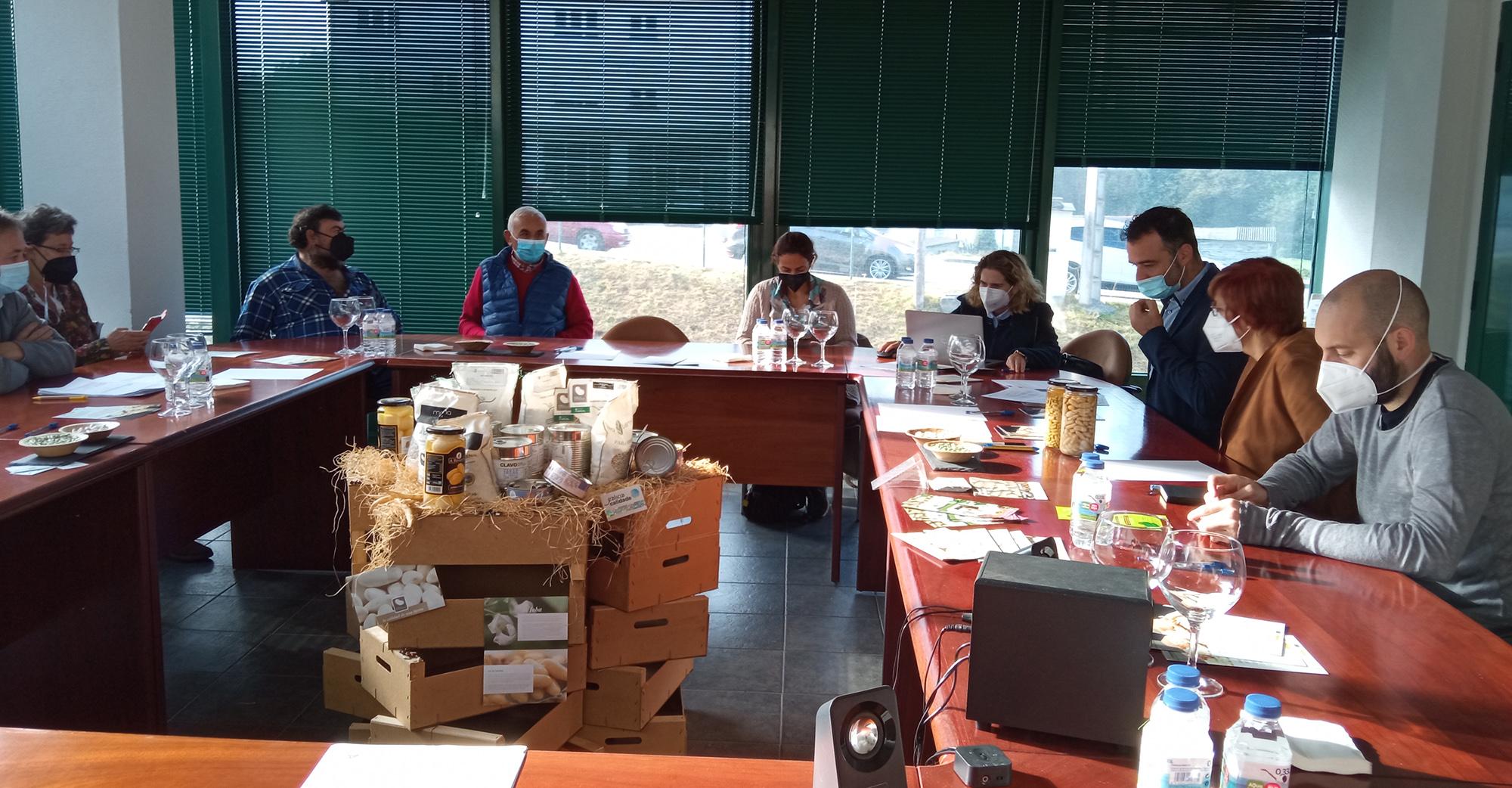 Hoy se presentó el proyecto Posta en valor da Faba de Lourenzá: sanidade da semente, cultivo e comercialización